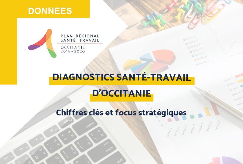 Le diagnostic régional santé-travail d'Occitanie : Chiffres clés et focus thématiques pour aider à la construction du futur PRST 4 Occitanie