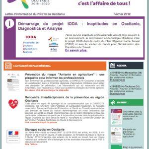 Lettre d'info 4 du PRST3 Occitanie